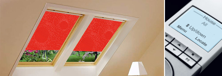 Velux blinds huge discounts on genuine velux roof window for Velux window blinds remote control